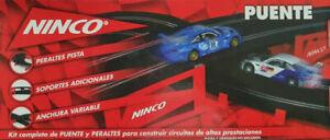 Peraltes pista con soportes adicionales y anchura variable Ninco 10218