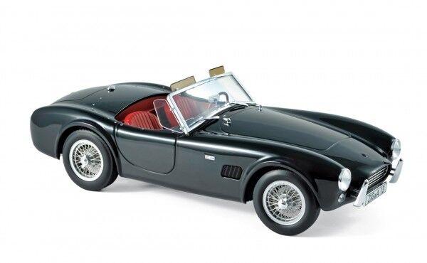 NOREV 182754 Shelby AC Cobra 289 1963 Noir 1 18 Voiture Miniature