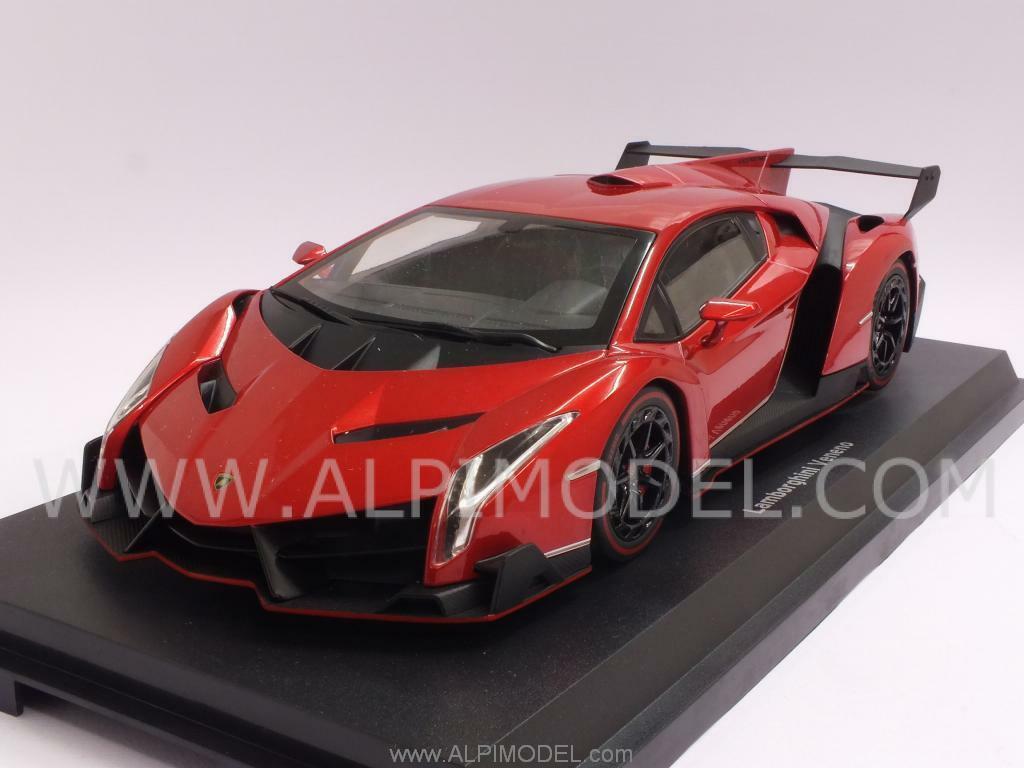 Lamborghini Veneno 2013 rosso Metallic 1 18 KYOSHO 9501RM