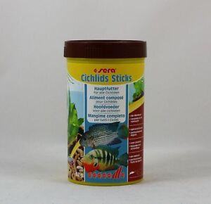 Sera-Cichlids-Batons-250ml-Nourriture-Complete-pour-Tous-Cychlides-23-96-L