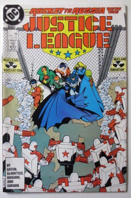 Justice League #3 (Jul 1987, DC) (C5283)