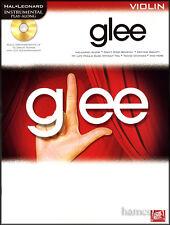 Glee Violin Instrumental Play-Along Music Book +CD