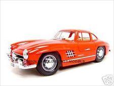 1954 MERCEDES 300 SL GULLWING RED 1:18 DIECAST MODEL CAR BY BBURAGO 12047