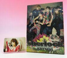 CD+DVD SHINee Sherlock JAPAN LIMITED EDITION with Minho Photo card