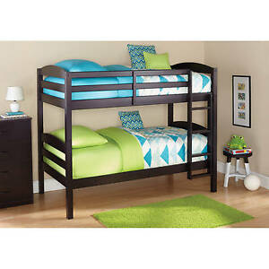 Image Is Loading Bunk Beds Twin Over Kids Furniture Bedroom