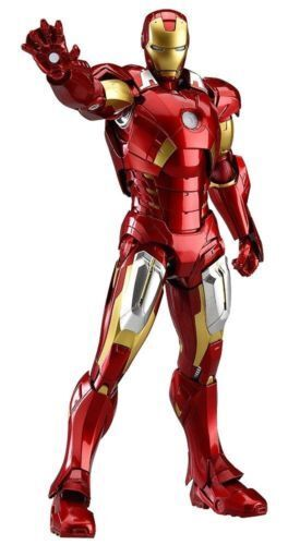 Figma 217 The Avengers Iron Man Mark VII Figure Good Smile Company from Japan