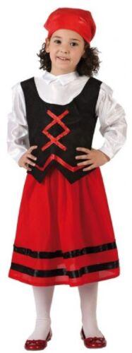 Filles Rouge aubergiste BIBLE STORY École Nativité Noël Costume Robe Fantaisie
