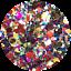 thumbnail 129 - Hemway Glitter Epoxy Resin Crystal Kitchen Worktop Counter Table Top Pigment
