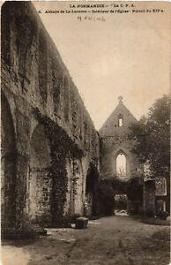 CPA-La-Lucerne-Abbaye-de-La-Lucerne-Interieur-de-l-039-Eglise-633300