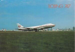JAL-JAPAN-AIR-LINES-BOEING-747-JA8106-LONDON-HEATHROW-POSTCARD