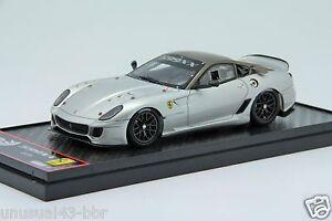 1-43-BBR-Ferrari-599XX-2010-Silver-Free-Shipping