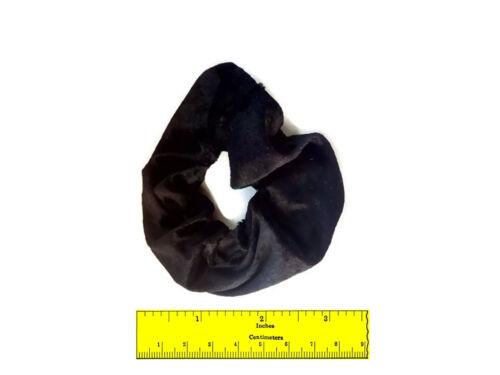 Deux 2 Velours Cheveux Chouchous élastique cheveux Scrunchy Cheveux Pompon chouchou