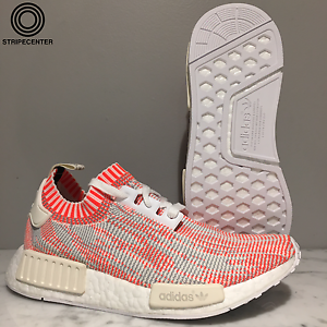 Adidas NMD_R1 PK 'RED CAMO' - BA8599 - WHITE SOLRED OFFWHITE - orange