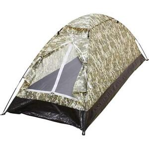 Image is loading New-Portable-Camo-One-Person-Single-Layer-C&ing-  sc 1 st  eBay & New Portable Camo One Person Single Layer Camping Biking Light ...
