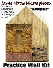 Practice Wall Kit w/How-To Booklet YORKE/Scale Model Masterpieces On3/On30 *NEW*