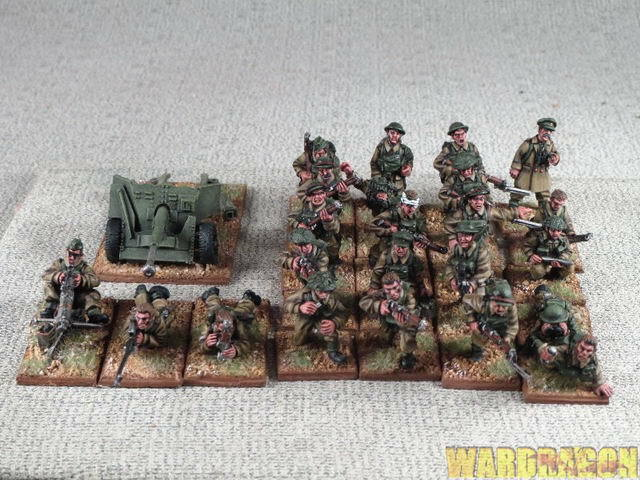 WDS painted British Expeditionary Force WWII Early Early Early War British Infantry j15 24b5d1