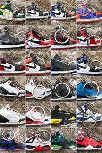 2fc7442abf4a Air Jordan Nike Yeezy Boost Keychain Rubber Retro 90+ Colorways ...
