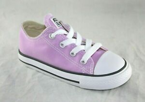 CONVERSE CHUCK TAYLOR ALL STAR LO TOP INF//TODDLER FUCHSIA GLOW
