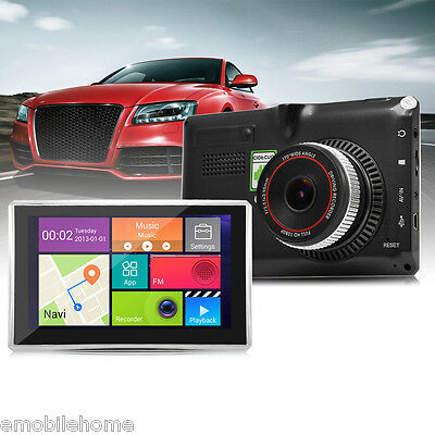 508 5 inch Android 4.4 Car Tablet GPS 170 Degree Wide Angle 1080P DVR Recorder