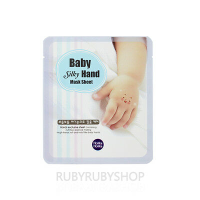 [Holika Holika] Baby Silky Hand Mask Sheet - 1pcs