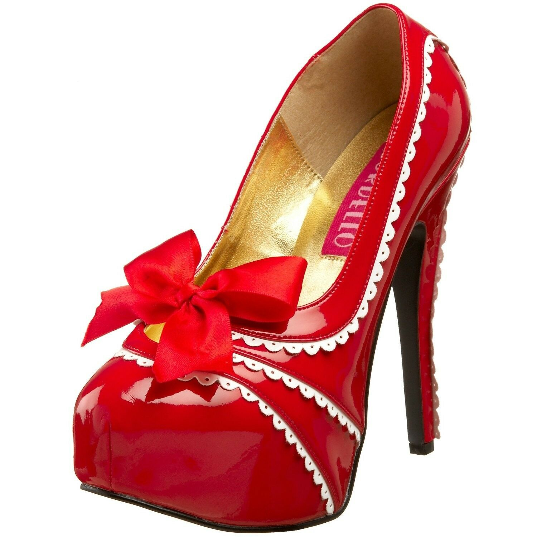 BORDELLO Sexy Heel Platfrm Pump Teeze-13 14 15 16 16 16 17 18 efc208