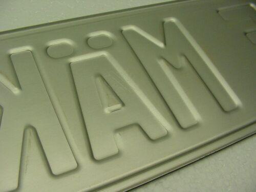 FRANCE peugeot mini cooper custom euro VOLVO bmw AUDI VW skoda vaxhaul plate