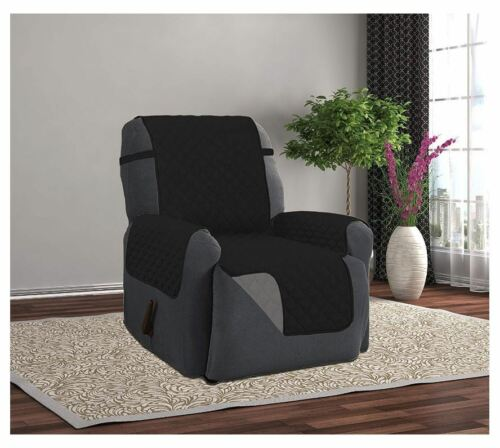 Recliner Chair Arm Cover Lazy Boy Pet Furniture Reversible Microfiber Protector