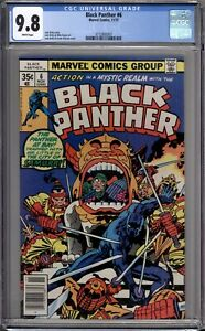 Black-Panther-6-CGC-Graded-9-8-NM-MT-Marvel-Comics-1977