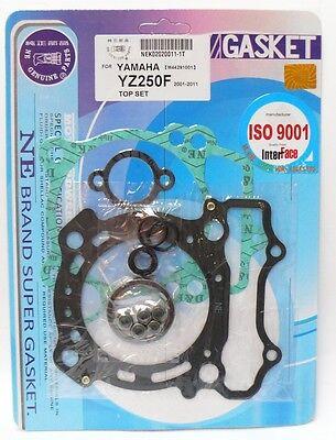 KR Motordichtsatz Dichtsatz Gasket set TOP END YAMAHA YZ 250 F YZ 250 F 4T 00-10