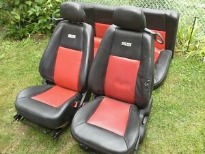 2005 2010 chevy cobalt ss front rear leather seats oem. Black Bedroom Furniture Sets. Home Design Ideas