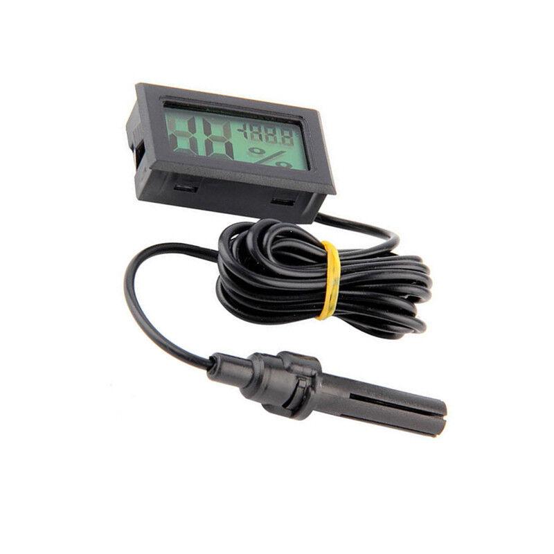 1.5M Mini Digital LCD Thermometer Hygrometer Humidity Temperature Meter Indoor