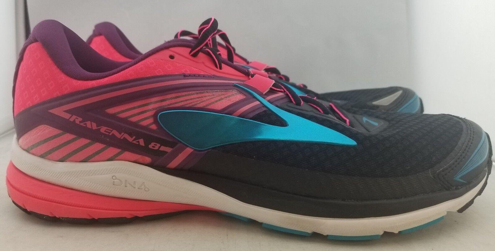 Brooks Ravenna 8 Running Shoe  noir /rose/bleu femmes  US 11 Eur 43 (R2,24)