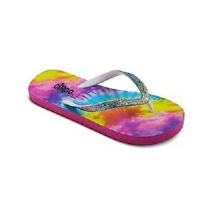 f7f420a6f03e Circo Girls  Hailey Tie Dye Flip Flop - Size  XL 6 - NEW with Tags ...