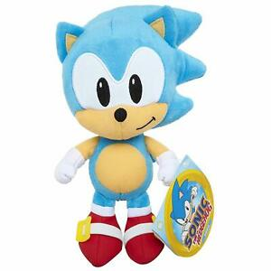 Sonic The Hedgehog 7 Sonic Plush Figure Official Jakks Pacific Plushie 192995400689 Ebay