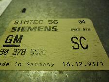 OPEL-X20XEV-STGT-SIMTEC 56-MOTOR/90 378 653/90378653/SC