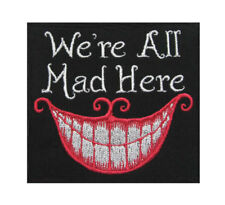 6cm embroidery patch Iron On Alice In Wonderland Cheshire Cat Size 1 patch