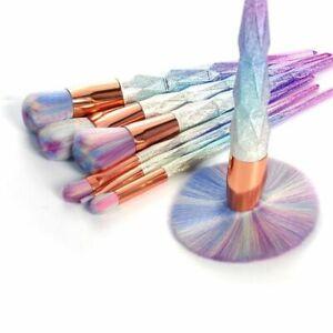fischschwanz-lippe-regenbogen-stiftung-diamond-make-up-pinsel-setzen-pulver
