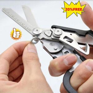 Multifunction Emergency Response Shears Multitool Folding Scissors Pliers US