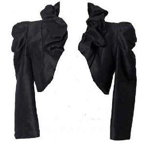 festliche damen bolero damen jacke neu sommer j ckchen schwarz ebay. Black Bedroom Furniture Sets. Home Design Ideas