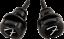 Genuine-Fender-Infinity-F-Logo-Strat-Tele-Guitar-Strap-Locks-Straplocks-BLACK miniature 3
