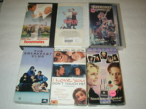 COMEDY-MOVIES-6-PACK-VHS-MOVIE-LOT-RARE-OOP-HTF