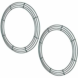 image is loading beading supplies pack wire wreath frame making rings - Wire Wreath Frame