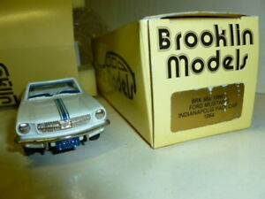 Die-cast-1-43FORD-MUSTANG-INDIANAPOLIS-PACE-CAR-1964-BROOKLIN-MODELS-BRK56X-1-2
