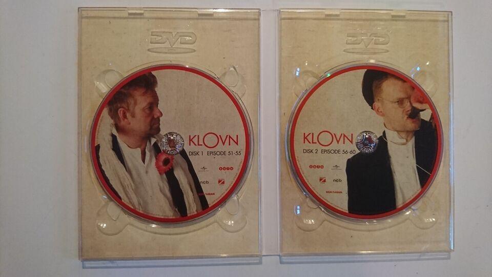 Klovn - 6. Sæson - Røvtur, instruktør Mikkel Nørgaard, DVD