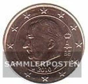 Belgique b 1 2010 brillant universel (BU) 2010 monnaie en cours legal 1 cent