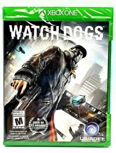Microsoft XBOX ONE WATCHDOGS Video Game Brand New Factory Sealed