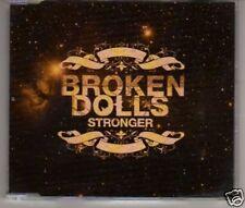 (A405) Broken Dolls, Stronger - DJ CD