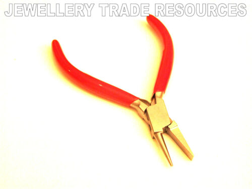 FLAT /& ROUND NOSE JEWELLERS JEWELLERY MAKING PLIER PLIERS SMOOTH BEADING