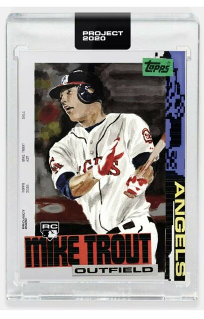 Topps PROJECT 2020 Card 85 - 2011 Mike Trout by Jacob Rochester
