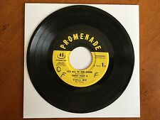 Promenade EP 45 Record A-54-3 Special Non Breakable 6 Total Songs 1958